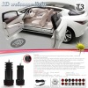 3D WELCOME LIGHT FOR CAR DOOR Mini 3D Car led ghost shadow light