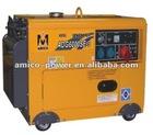 Silent diesel generator 6.5kva