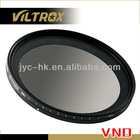 72mm HD Variable ND Fader ND2 to ND400 lens filter