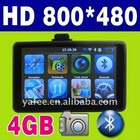 "5"" 4GB Car GPS Navigation Bluetooth O-707"