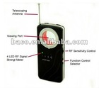 Senstivity camera detector sweep all hidden camera lens ,gps tracker gsm bug