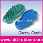 Horse Hand Shaped Curry Combs