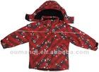 seam taped children's ski jacket
