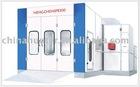 Powerful auto spray booth