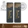 #DK30124 Leather fabric 2 pcs Dakar Licensed seat belt shoulder pads
