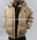 Men's pp down padding jacket with hood, style no.7609093