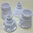 LED bulb parts white ceramic lamp holder