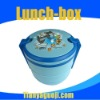 Circular four-layer portable cartoon lunch boxes