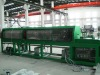 Tangential paper wrapping cable Machine with 3 heads wrap 12 layers