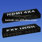 HDMI Matrix router 4x4 support 3D