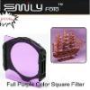 Full Purple Color Square Filter