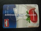 Super Market Plastic PP Coin Card