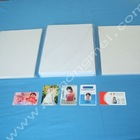 Instant white pvc card pvc sheet