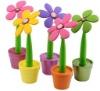 2012 Fashion silicone mini artificial flower pot