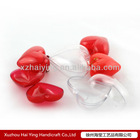 Promotion acrylic wedding decoration heart