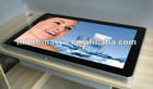 hot selling wide view 26inch lcd advertising player ,wall mount advertising player 3g/wifi/network optional
