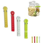 Eco-friendly Plastic Bag Clip with date printing,fresh date sealing clip,cheap Plastic food date fresh Bag seal Clip