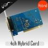 H.264 Hybrid DVR card