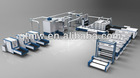 (automobile interior decoration) production lines