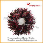 Rooster Feather Wreath