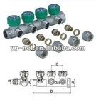 4 ways flow control valve hydraulic