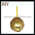 Christmas tree decoration sequin ball Xmas foam ball