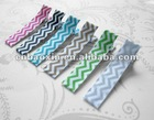Fancy chevron print ribbon size 5/8""