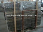 Polished Silver Gray Travertine Slab