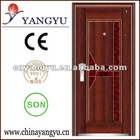 Exterior Steel Security Door ( ISO9001/CE/SON)