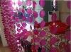 HX-0110P Amazing elegant home decor shell curtain