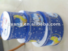 round hard paper christmas box for gift