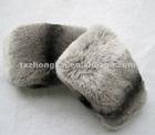 Fashion rex rabbit fur cuffs for jackets