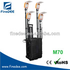 M70 4x16W Cree LED Portable Lighting Tower