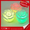 Rose LED light changing color LED candle night light top deal for christmas day decoration Valentine's day wedding gift