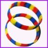 2012 hotselling colorful bracelet silicone