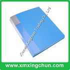 High quality PP clear plastic book cover