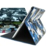 New arrival laptop case for ipad 2 ipad 3 camouflage leather case