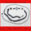 2012 fashion lady diamond belts,rhinestone belt,chain belt