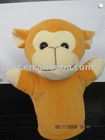 plush toy hand puppet monkey