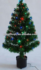 3Ft LED Fiber Optic Christmas Tree