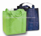 wholesale glass ball christmas ornament bag high quality non woven shopping bag promotion gift bag