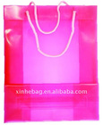 PP clear gift promotional bag