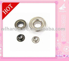 Brass or iron eyelets for garments or belts