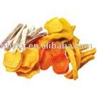 crispy snacks (Vacuum Fried Dried Fruit and Veg Chips )