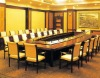 wooden conference table, office meeting desk, conference furniture