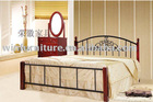 wooden double bed designs DB-0101