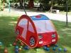 Pop up play car tent