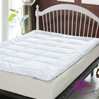 100% cotton hotel quilted mattress protector/mattress topper