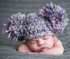 Toddler Hat with Jumbo Pompom