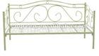 Simple Design Metal Frame Single Bed